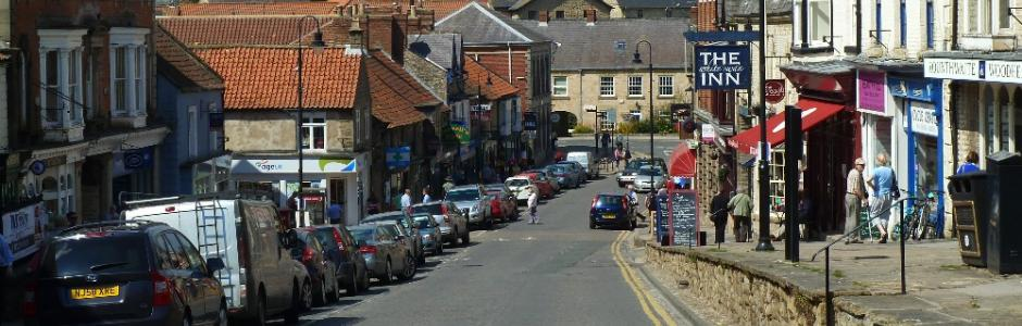 Pickering Market Place and Shops